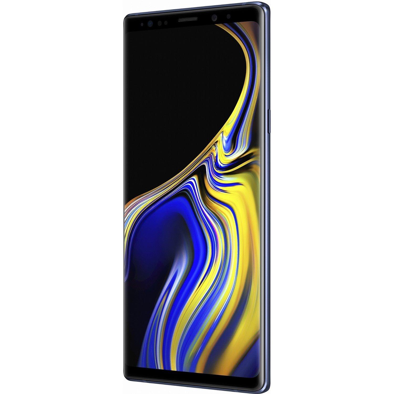 """Samsung Galaxy Note 9 SM-N960F 512 GB Smartphone - 16.3 cm (6.4"""") QHD+ - 8 GB RAM - Android 8.1 Oreo - 4G - Ocean Blue"""