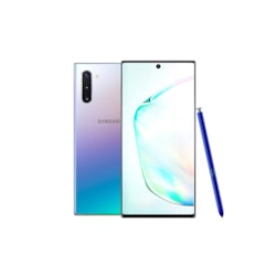 "Samsung Galaxy Note10 SM-N970F 256 GB Smartphone - 16 cm (6.3"") Dynamic AMOLED Full HD Plus 2280 x 1080 - 8 GB RAM - Android 9.0 Pie - 4G - Aura Glow"