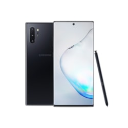 "Samsung Galaxy Note10+ SM-N975F/DS 256 GB Smartphone - 17.3 cm (6.8"") Dynamic AMOLED WQHD+ 3040 x 1440 - 12 GB RAM - Android 9.0 Pie - 4G - Aura Black"