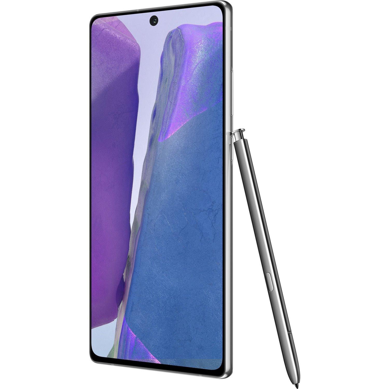 "Samsung Galaxy Note20 SM-N980F 256 GB Smartphone - 17 cm (6.7"") Super AMOLED Plus Full HD Plus 1080 x 2400 - 8 GB RAM - Android 10 - 4G - Mystic Gray"