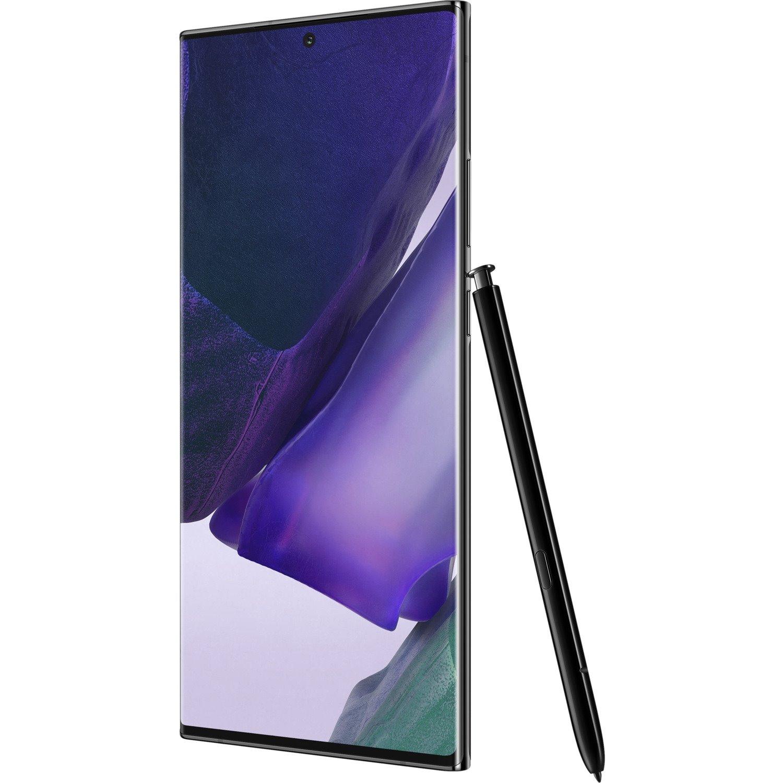 """Samsung Galaxy Note20 Ultra SM-N985F 256 GB Smartphone - 17.5 cm (6.9"""") Dynamic AMOLED QHD+ 1440 x 3088 - 8 GB RAM - Android 10 - 4G - Mystic Black"""