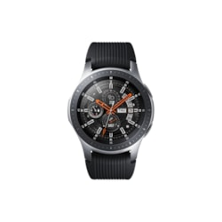 Samsung Galaxy Watch SM-R800 Smart Watch - Wrist Wearable - Silver - Stainless Steel Case - Silicone Band