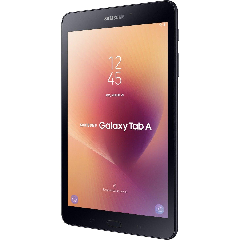"Samsung Galaxy Tab A SM-T380 Tablet - 20.3 cm (8"") - 2 GB Quad-core (4 Core) 1.40 GHz - 16 GB - Android 7.1 Nougat - 1280 x 800 - Black"