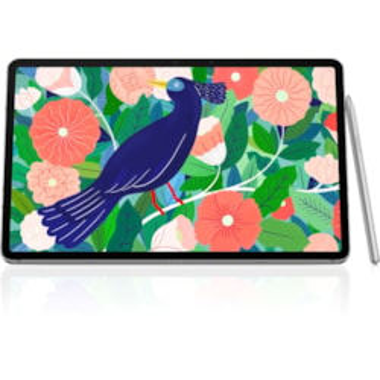 "Samsung Galaxy Tab S7 SM-T870 Tablet - 27.9 cm (11"") WQXGA - 8 GB RAM - 256 GB Storage - Android 10 - Mystic Silver"