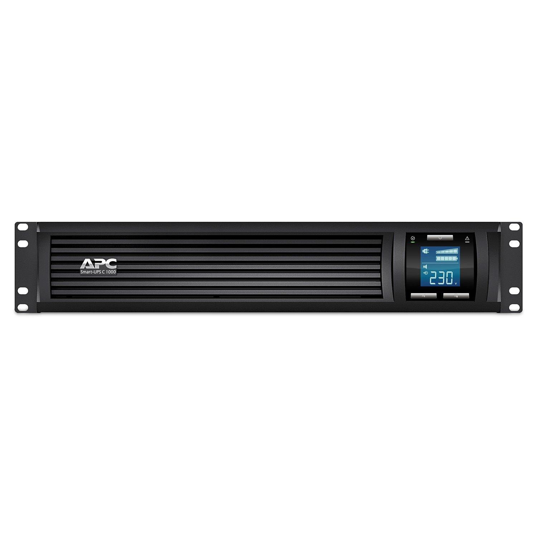 APC by Schneider Electric Smart-UPS Line-interactive UPS - 1 kVA/600 W - 2U Rack-mountable