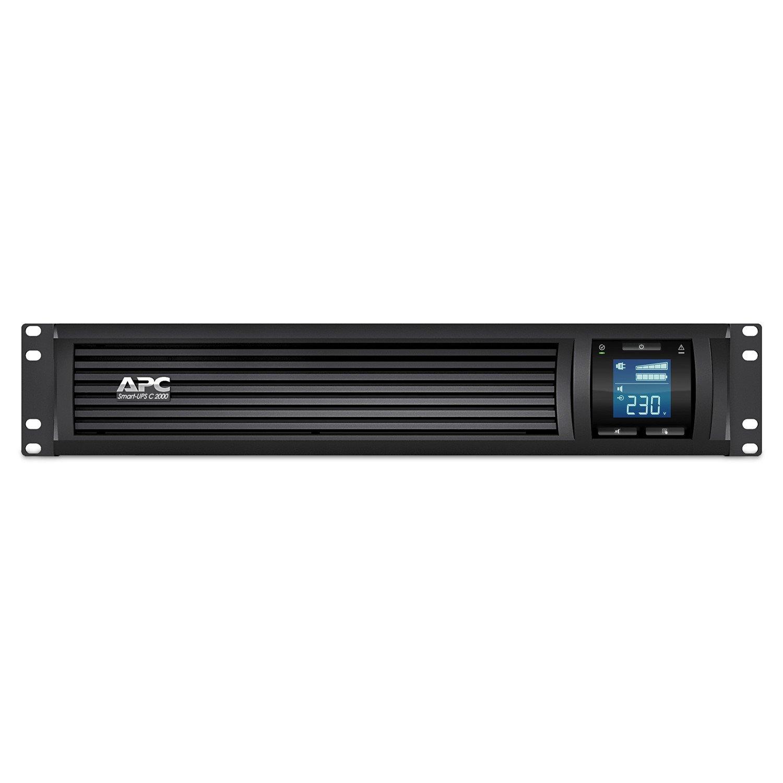 APC by Schneider Electric Smart-UPS Line-interactive UPS - 2 kVA/1.30 kW - 2U Rack-mountable