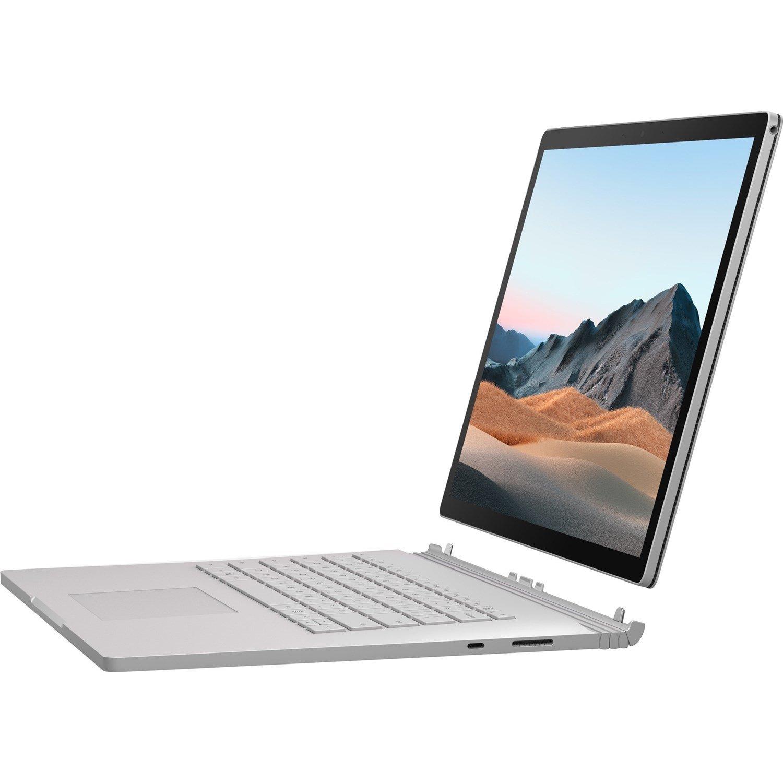 "Microsoft Surface Book 3 38.1 cm (15"") Touchscreen 2 in 1 Notebook - 3240 x 2160 - Core i7 i7-1065G7 - 32 GB RAM - 512 GB SSD - Platinum"
