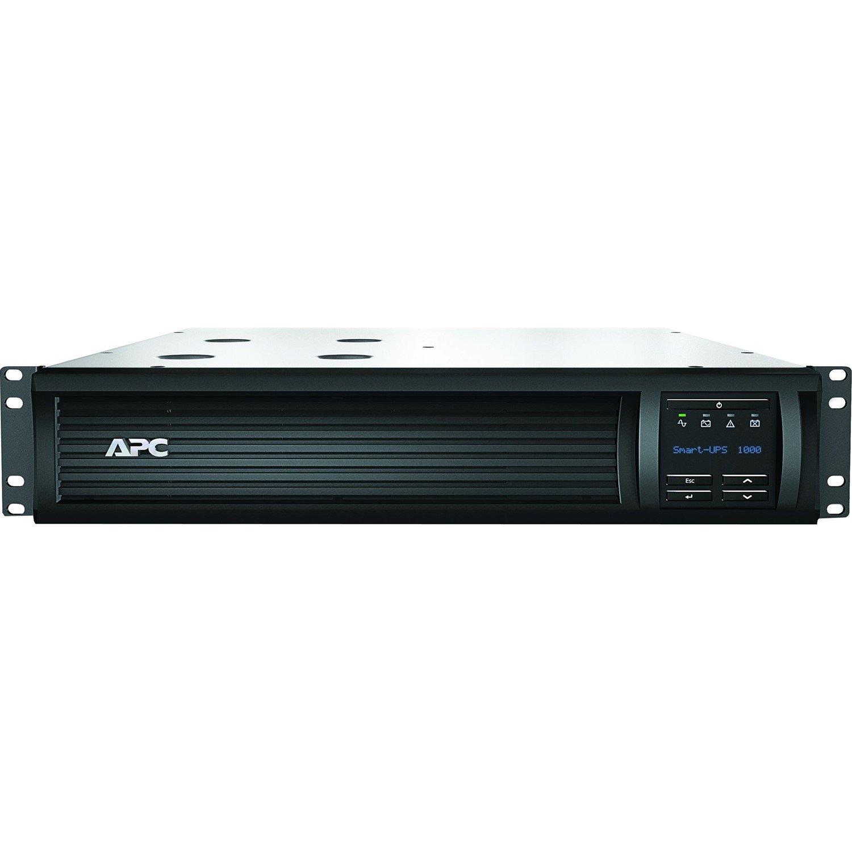 APC by Schneider Electric Smart-UPS SMT1000RMI2U Line-interactive UPS - 1 kVA/700 W - 2U Rack-mountable