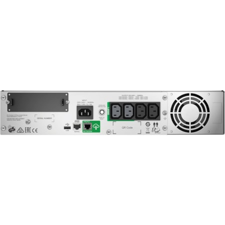 APC by Schneider Electric Smart-UPS Line-interactive UPS - 1 kVA/700 W - 2U Rack-mountable