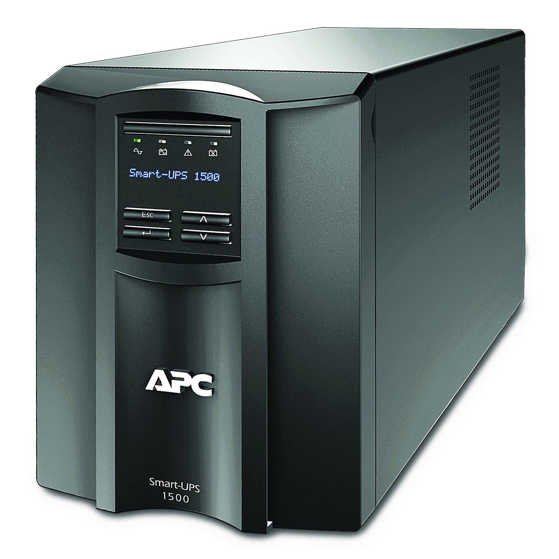 APC by Schneider Electric Smart-UPS Line-interactive UPS - 1.50 kVA/1 kWDesktop/Tower