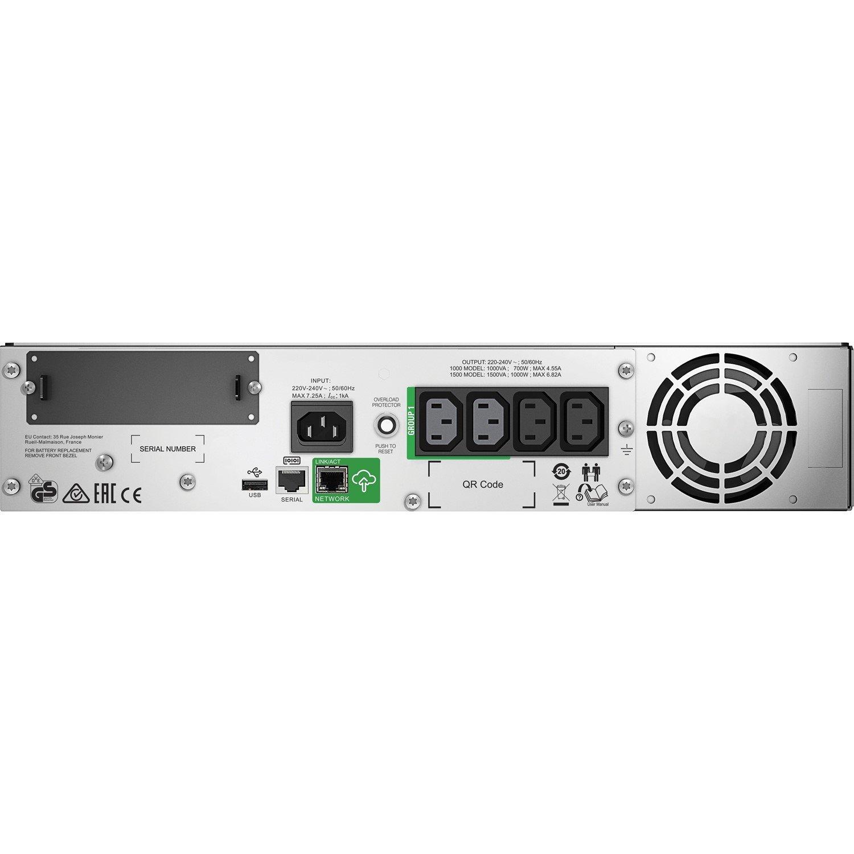APC by Schneider Electric Smart-UPS SMT1500RMI2UC Line-interactive UPS - 1.50 kVA/1 kW - 2U Rack-mountable
