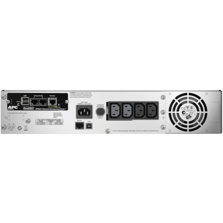 APC by Schneider Electric Smart-UPS Line-interactive UPS - 1.50 kVA/1 kW - 2U Rack-mountable