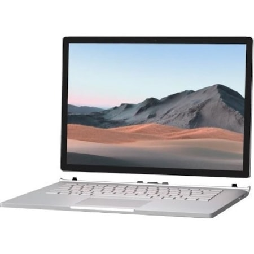 "Microsoft Surface Book 3 38.1 cm (15"") Touchscreen 2 in 1 Notebook - 3240 x 2160 - Intel Core i7 (10th Gen) i7-1065G7 Quad-core (4 Core) 1.30 GHz - 32 GB RAM - 1 TB SSD - Platinum"