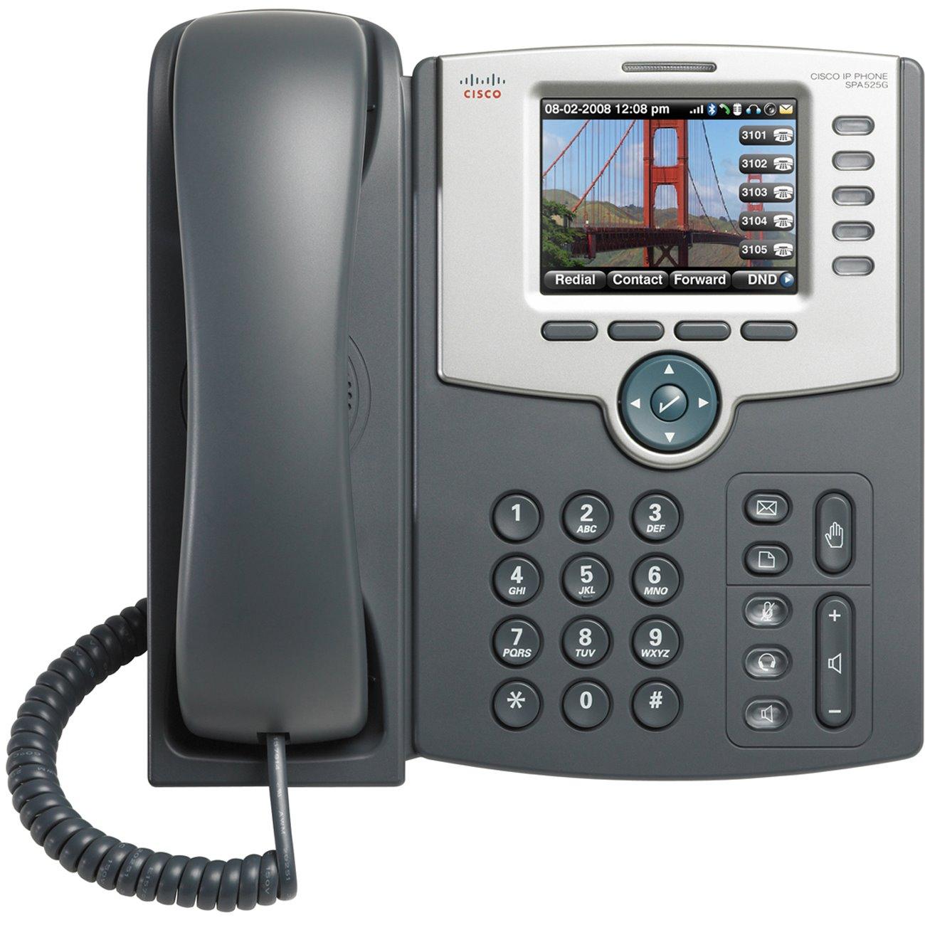 Cisco SPA525G2 5 Line Colour IP Phone