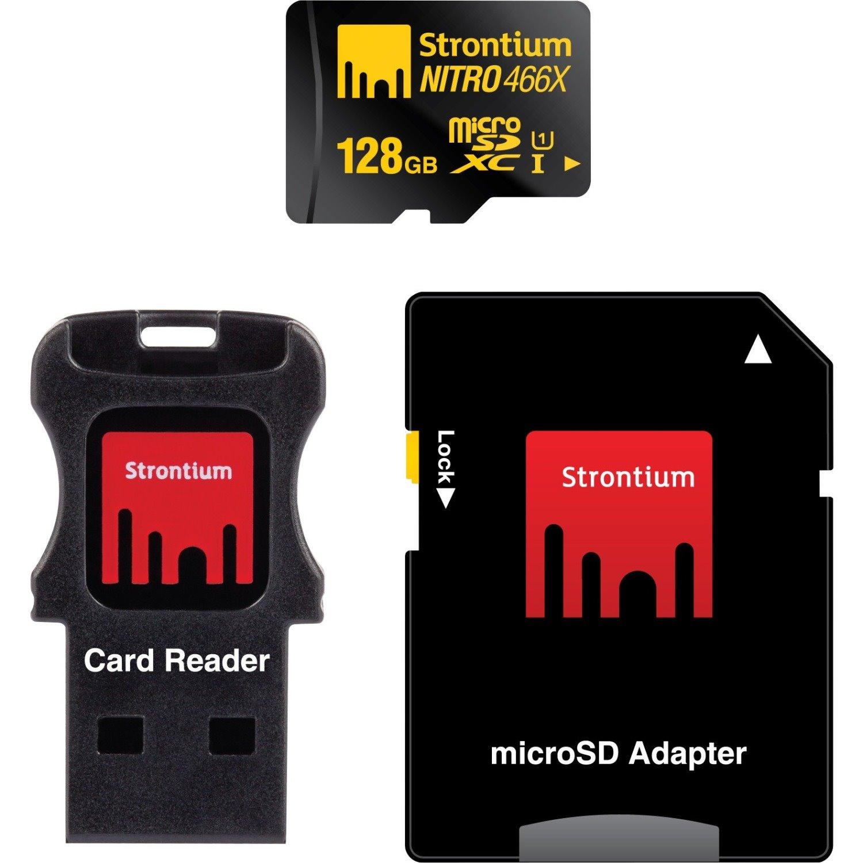 Strontium NITRO 128 GB Class 10/UHS-I microSDXC