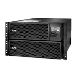 SRT10KRMXLI APC by Schneider Electric Smart-UPS Online  Dual Conversion UPS 10kVA / 10kW,  Includes Network Management Card, Temperature Sensor, Rack Mounting Kit & 3 Years Parts Warranty
