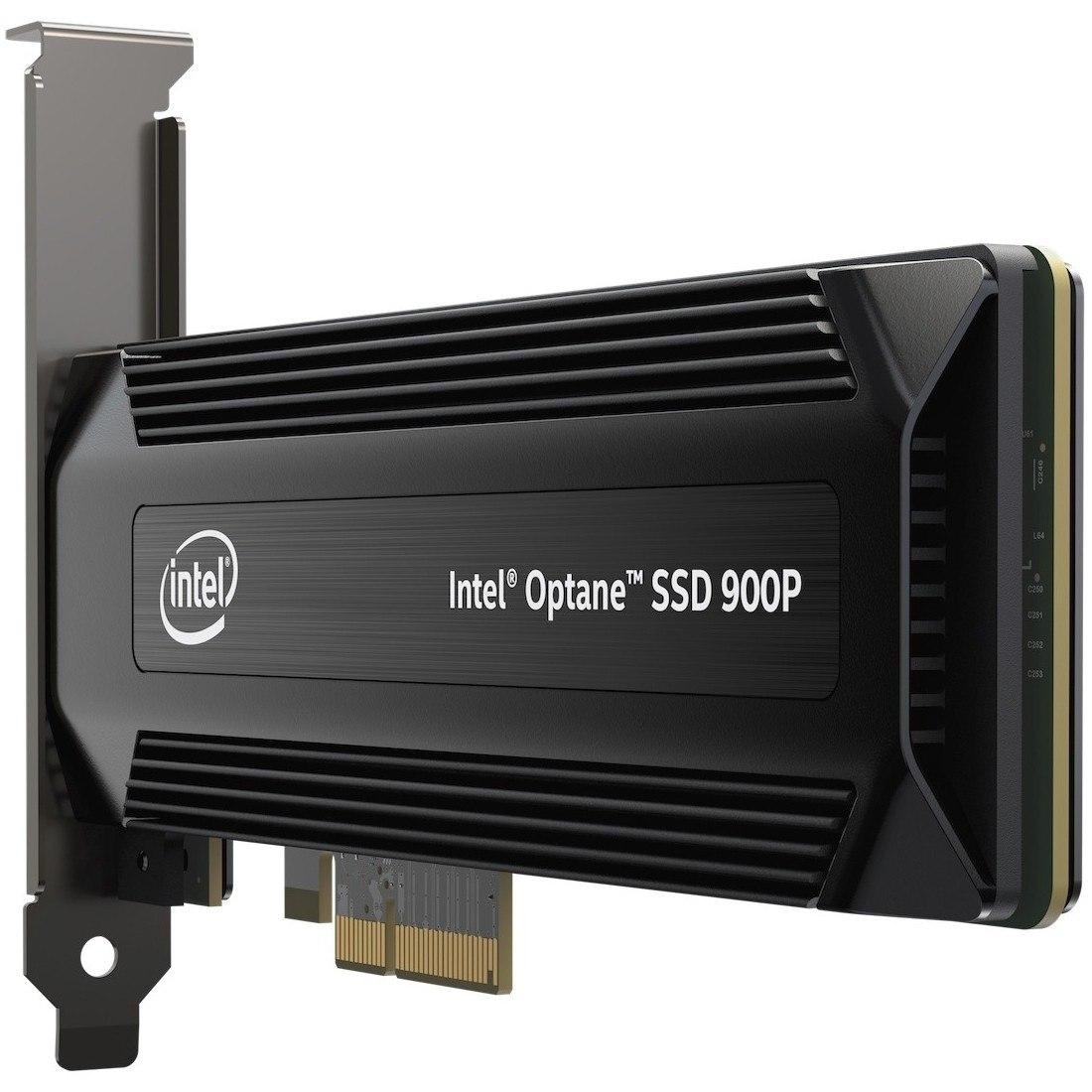 Intel Optane 900P 480 GB Solid State Drive - PCI Express (PCI Express 3.0 x4) - Internal - Plug-in Card