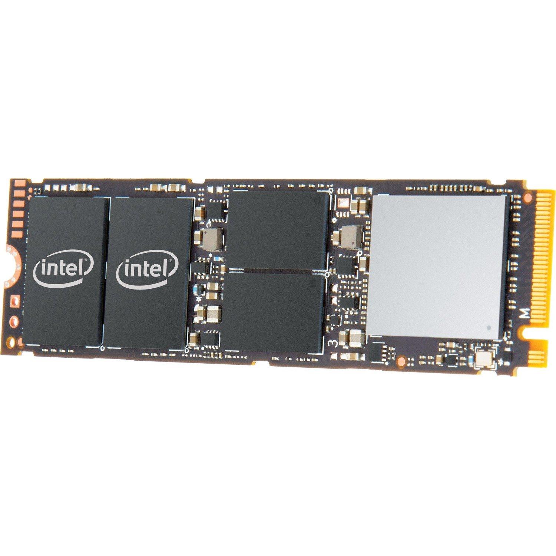 Intel 760p 512 GB Solid State Drive - PCI Express (PCI Express 3.1 x4) - Internal - M.2 2280