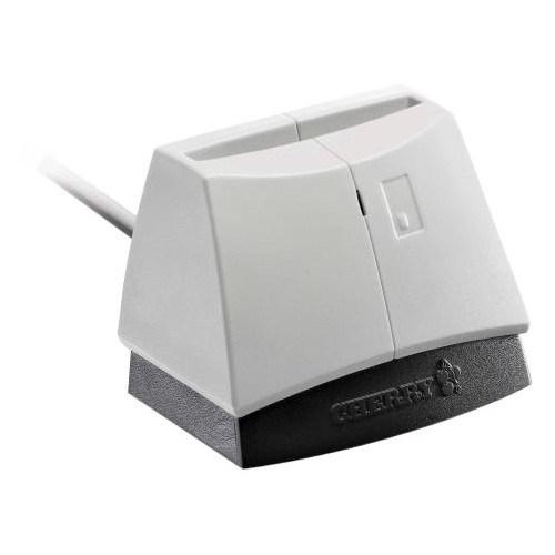 CHERRY ST-1144 Contact Smart Card Reader - Light Grey