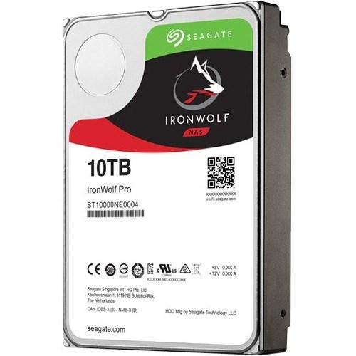 "Seagate IronWolf Pro ST10000NE0004 10 TB 3.5"" Internal Hard Drive - SATA"