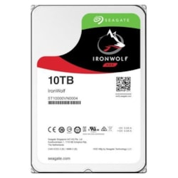 "Seagate IronWolf ST10000VN0004 10 TB Hard Drive - 3.5"" Internal - SATA (SATA/600)"