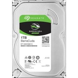 "Seagate BarraCuda ST1000DM010 1 TB Hard Drive - 3.5"" Internal - SATA (SATA/600)"
