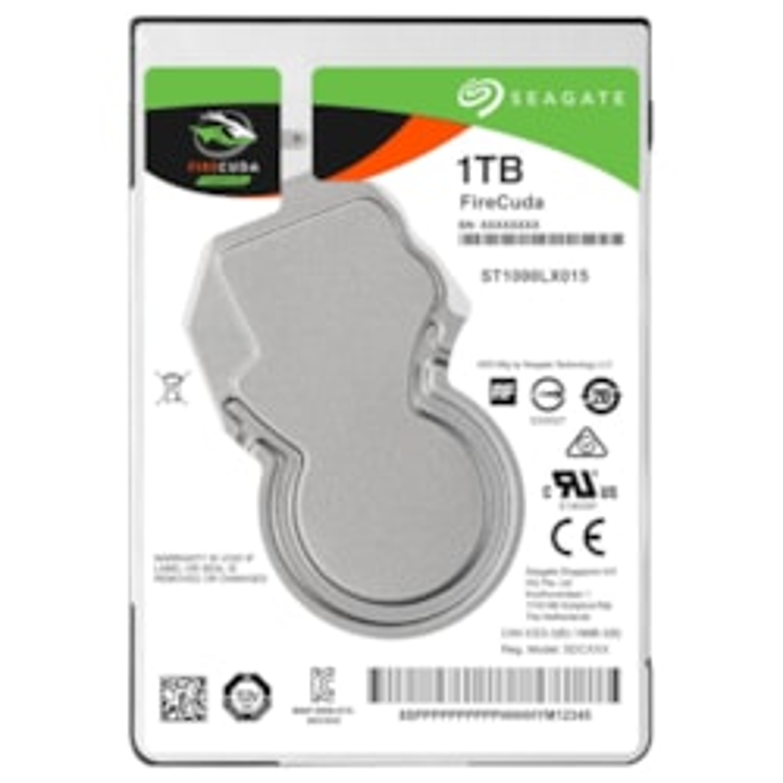 "Seagate FireCuda ST1000LX015 1 TB Hard Drive - 2.5"" Internal - SATA (SATA/600)"