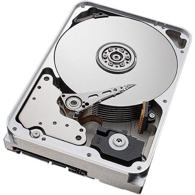 """Seagate Exos X14 ST12000NM0008 12 TB Hard Drive - 3.5"""" Internal - SATA (SATA/600)"""