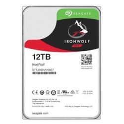 "Seagate IronWolf ST12000VN0007 12 TB Hard Drive - 3.5"" Internal - SATA (SATA/600)"
