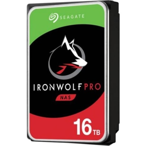 Seagate Ironwolf Pro 16TB - Workload 300TB/YR 7200RPM 5YRS Warranty 2YRS Data Rescue