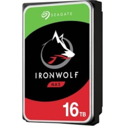 "Seagate IronWolf ST16000VN001 16 TB Hard Drive - 3.5"" Internal - SATA (SATA/600)"