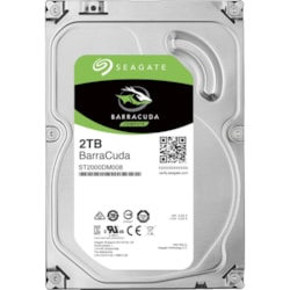 "Seagate BarraCuda ST2000DM008 2 TB Hard Drive - 3.5"" Internal - SATA (SATA/600)"