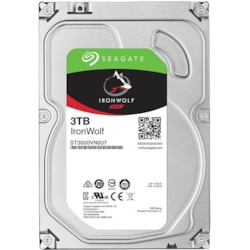 "Seagate IronWolf ST3000VN007 3 TB Hard Drive - 3.5"" Internal - SATA (SATA/600)"