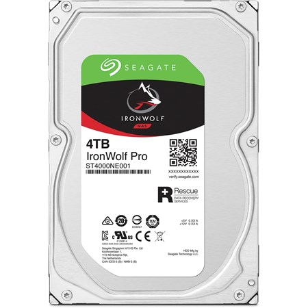"Seagate IronWolf Pro ST4000NE001 4 TB Hard Drive - 3.5"" Internal - SATA (SATA/600)"