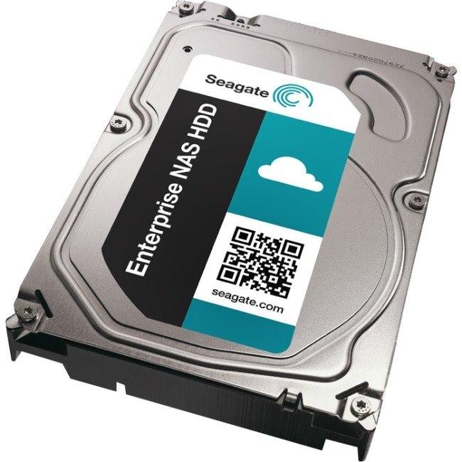 """Seagate ST6000VN0001 6 TB Hard Drive - SATA (SATA/600) - 3.5"""" Drive - Internal"""