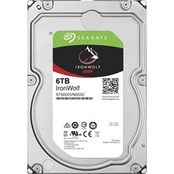 "Seagate IronWolf ST6000VN0033 6 TB Hard Drive - 3.5"" Internal - SATA (SATA/600)"