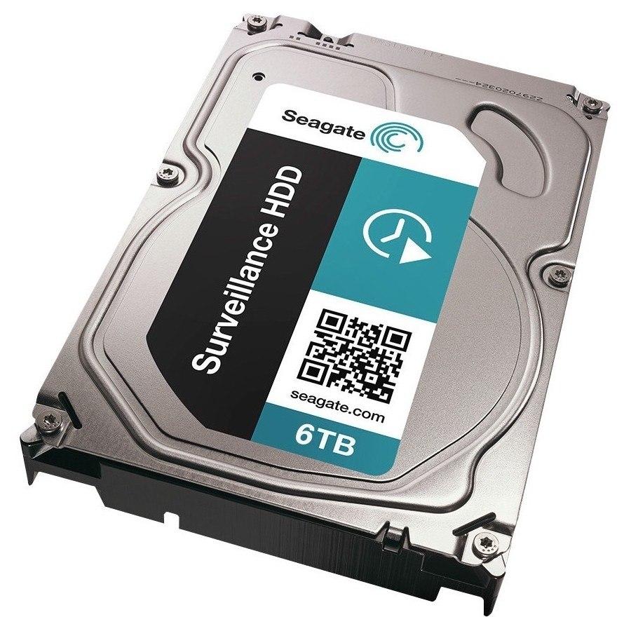 "Seagate Surveillance ST6000VX0001 6 TB Hard Drive - SATA (SATA/600) - 3.5"" Drive - Internal"