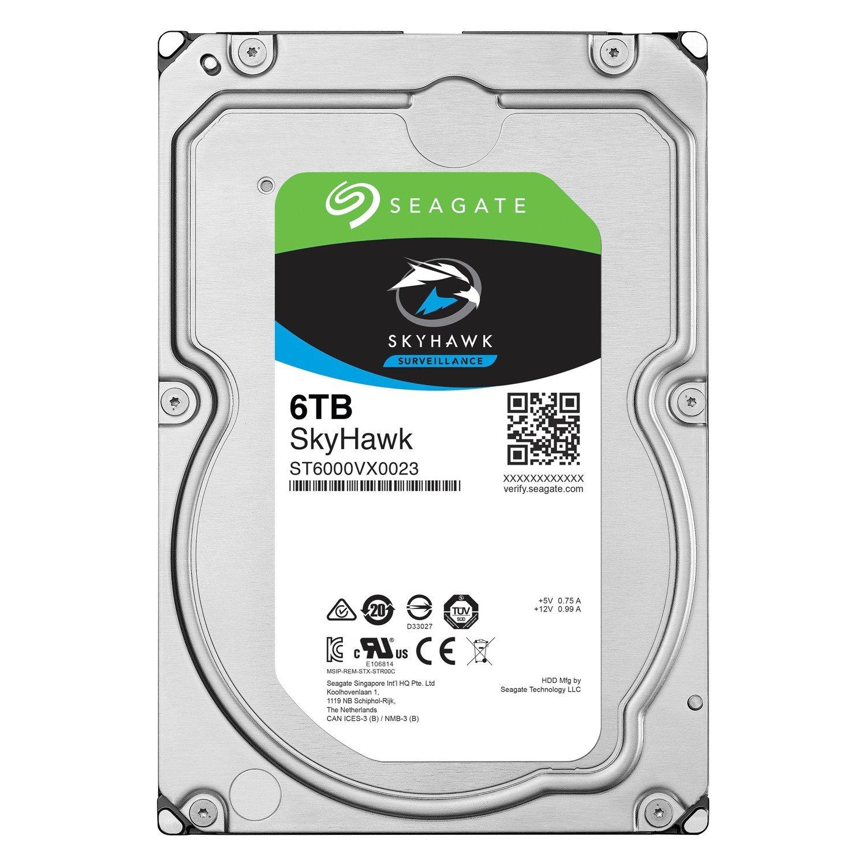 Seagate SkyHawk ST6000VX0023 6 TB Hard Drive - SATA (SATA/600) - Internal