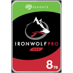 "Seagate IronWolf Pro ST8000NE001 8 TB Hard Drive - 3.5"" Internal - SATA (SATA/600)"