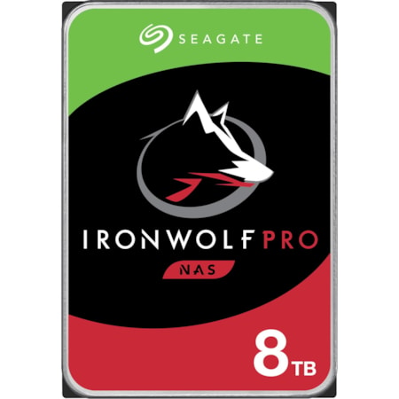 "Seagate IronWolf Pro ST8000NE001 8 TB Hard Drive - 3.5"" Internal - SATA (SATA/600)"