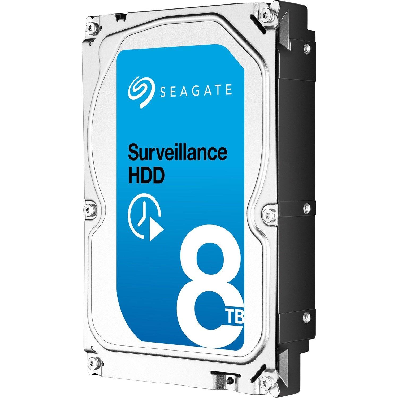 """Seagate SkyHawk ST8000VX004 8 TB Hard Drive - 3.5"""" Internal - SATA (SATA/600)"""