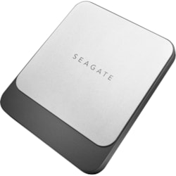 Seagate Fast STCM1000400 1 TB Portable Solid State Drive - External - Black, Silver