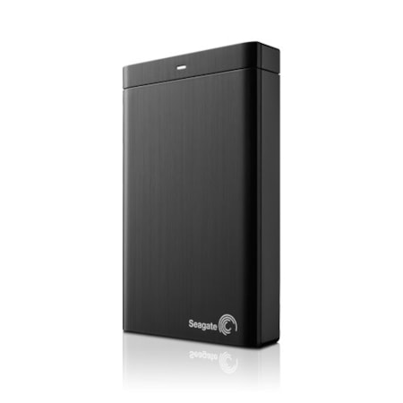 "Seagate Backup Plus Slim STDR1000300 1 TB Hard Drive - 2.5"" Drive - External - Portable"