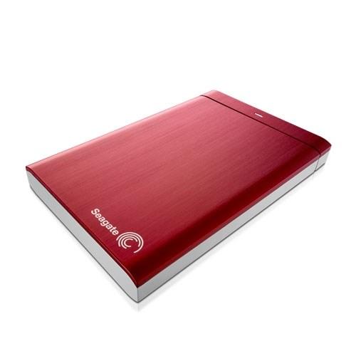 "Seagate Backup Plus Slim STDR1000303 1TB 2.5"" External Hard Drive - Red"
