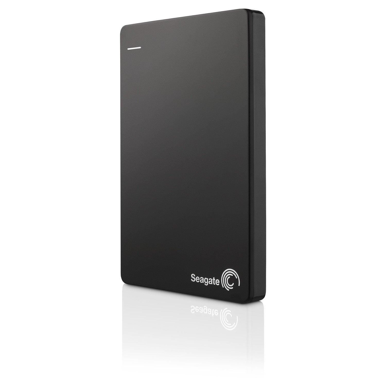 "Seagate Backup Plus Slim STDR2000300 2 TB Hard Drive - 2.5"" Drive - External - Portable"