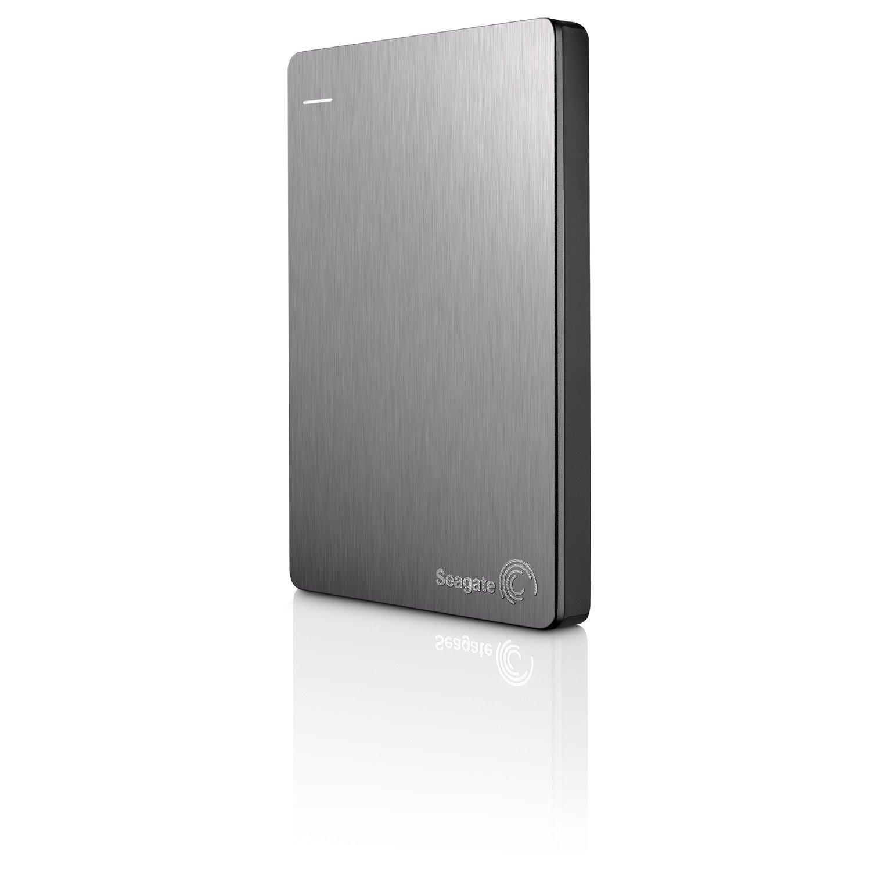 "Seagate Backup Plus Slim STDR2000301 2 TB Hard Drive - 2.5"" Drive - External - Portable"