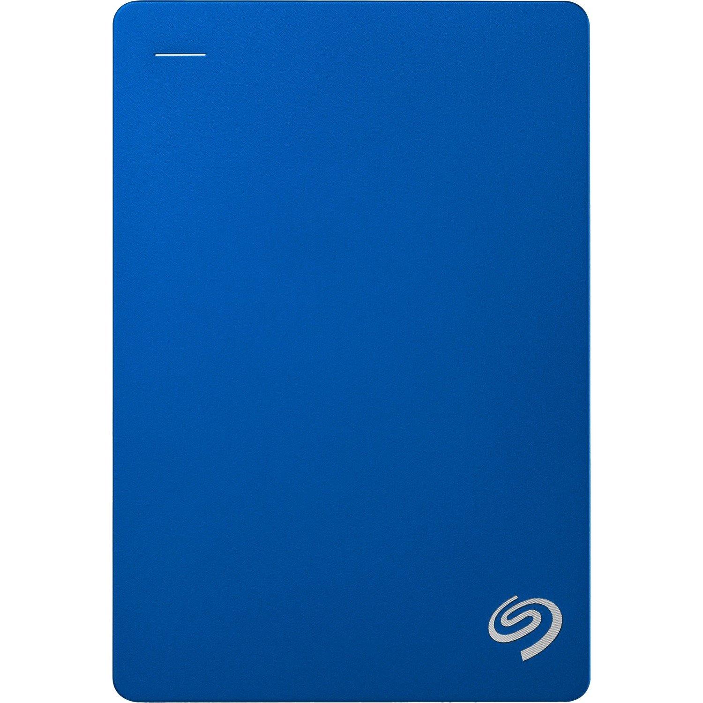 "Seagate Backup Plus STDR5000302 5 TB Portable Hard Drive - 2.5"" External - Blue"