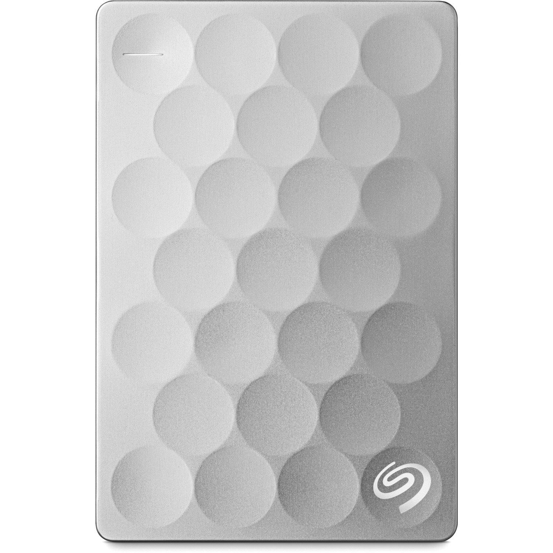 Seagate Backup Plus Ultra Slim STEH1000300 1 TB Hard Drive - External - Portable