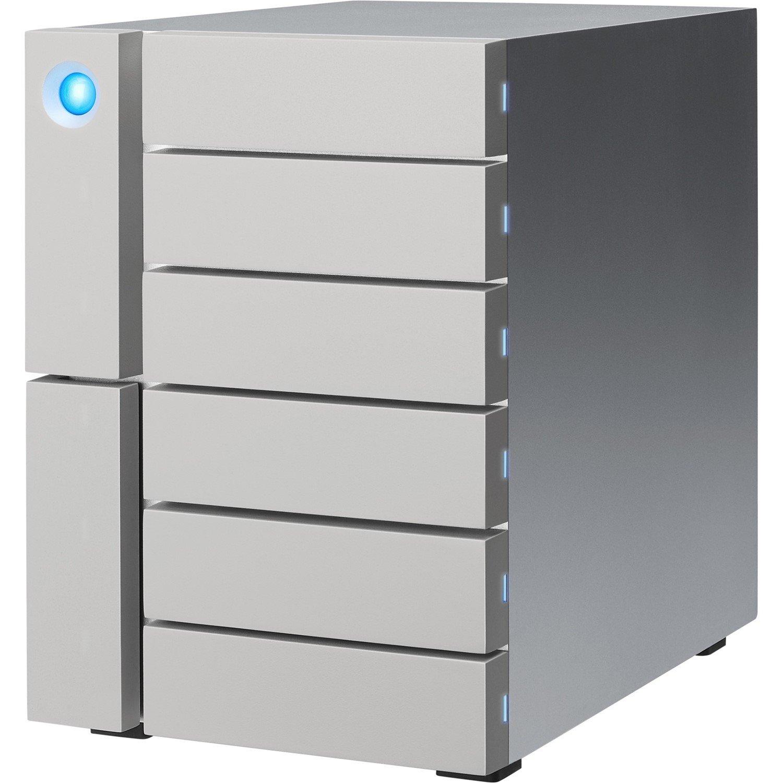 LaCie 6big STFK12000400 6 x Total Bays DAS Storage System Desktop