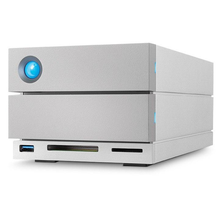 LaCie 2big Dock STGB8000400 2 x Total Bays DAS Storage System Desktop